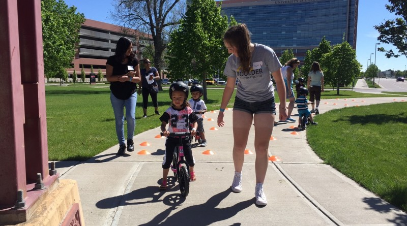 BJC Volunteers Help Get More Kids on Bikes